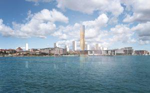 58 arkitekter vill rita skyskrapan