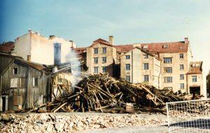 Foton från 70-talets rivningar i Haga visas på Arkivens dag