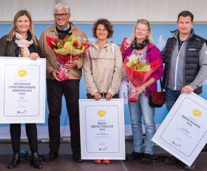 Göteborgs mest cykelvänliga arbetsplatser fick pris