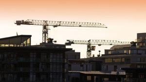 Kraftig ökning av bostadsbyggandet