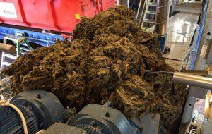Nerspolat hushållspapper ställer till problem på reningsverket