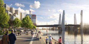 På lördag tas första spadtaget för Hisingsbron