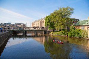 Regnigt Göteborg står värd för internationell vattenkonferens