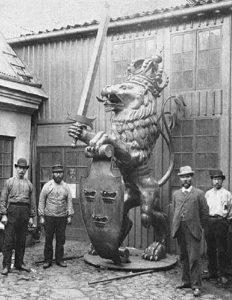 Skansen Lejonet – stadens värn och fäste