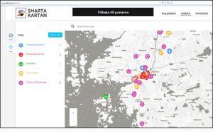 Smarta kartan visar vägen till hållbar livsstil