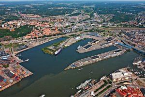 Variation och väderanpassning i nya stadsdelen i Frihamnen