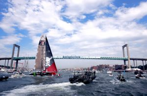 Volvo ocean race till Göteborg