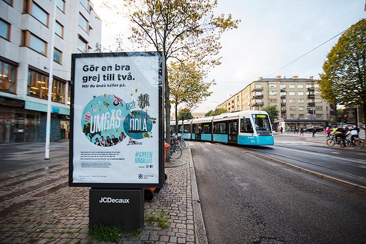 Ny kampanj ska få göteborgare att förena nöje med nytta