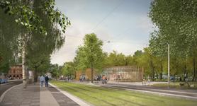Byggnadsnämnden godkände detaljplanen för station Haga
