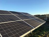 Sveriges största solcellspark invigd