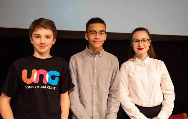 Debatt om miljö och klädsel på årets första ungdomsfullmäktigemöte