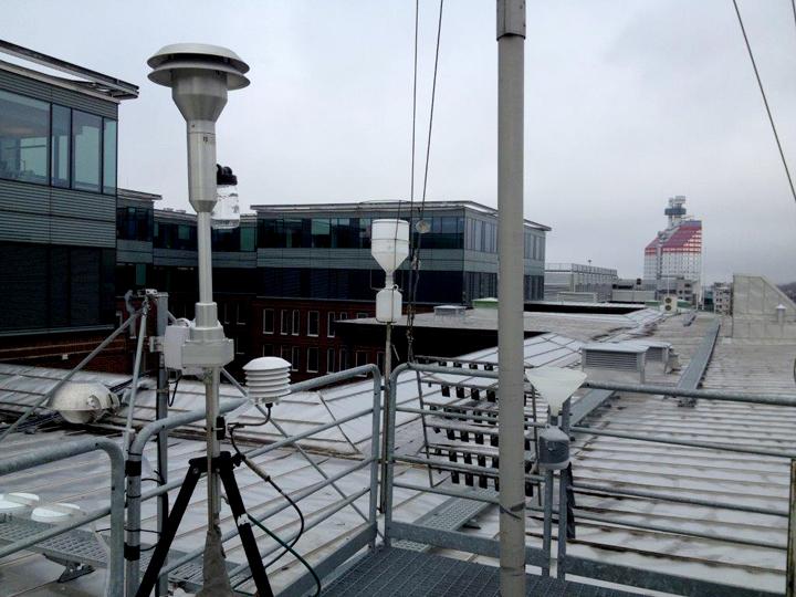 Här mäts luftkvaliteten i Göteborg