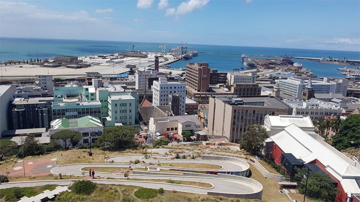 Göteborgs sydafrikanska partnerstad är på besök