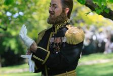 Kronprins Gustaf återinviger Vasabron
