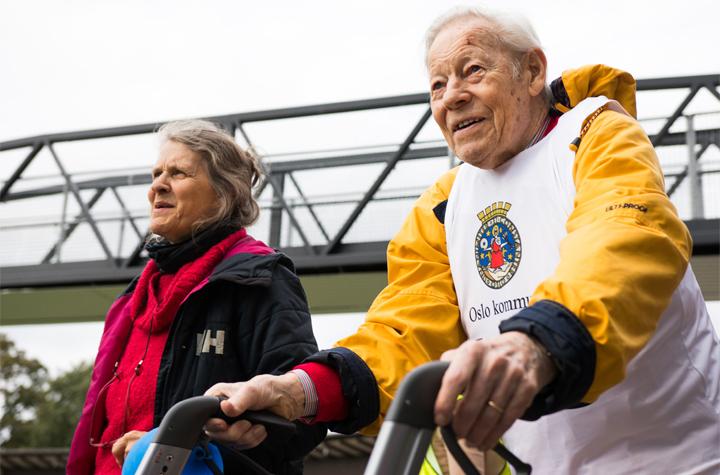 Stort intresse för Göteborgs första rullatorlopp