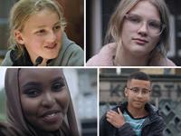 Engagerade unga berättar i ungdomsfullmäktiges nya kortfilm