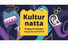 175 programpunkter på 28:e upplagan av Kulturnatta