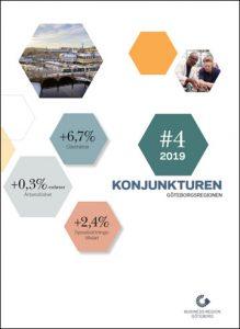 Konjunkturen bättre än väntat i Göteborgsregionen