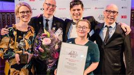 Smarta kartan får pris som Årets hållbara projekt