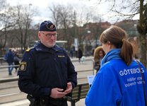 Polisen sätter extra fokus på Olskrokstorget och Redbergsplatsen
