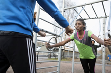 60 chanser att träna med instruktör i utegym
