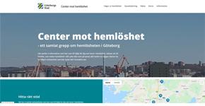 Göteborgs Stad öppnar Center mot hemlöshet