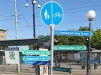 Trafikkontoret vill inspirera fler att cykla och gå