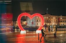 Nu tänds juleljusen i Göteborg