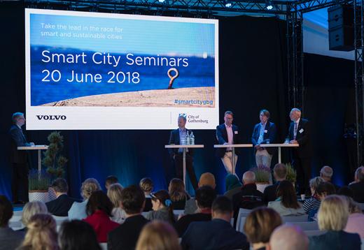 Delningsekonomi och elmobilitet på seminarium om smarta städer