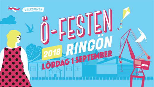 Fest på Ringön förenar företagare och lockar publik