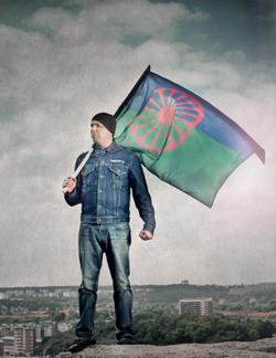 Utställningen Vi är romer visas på Frölunda kulturhus