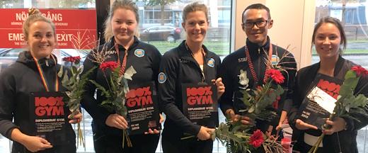 Göteborgs Stad diplomerar gym för anti-dopningsarbete